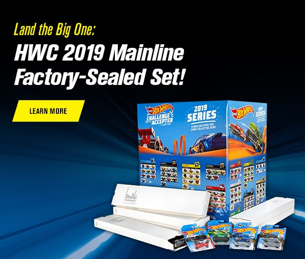 Land the Big One: HWC 2019 Mainline Factory-Sealed Set