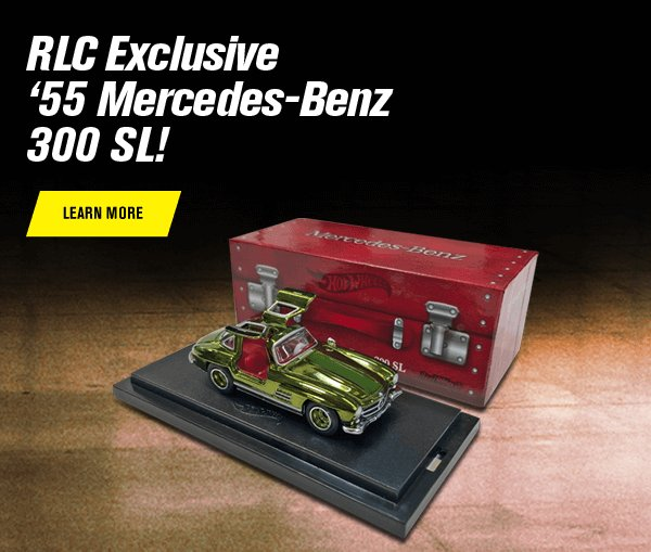 RLC Exclusive '55 Mercedes-Benz 300 SL