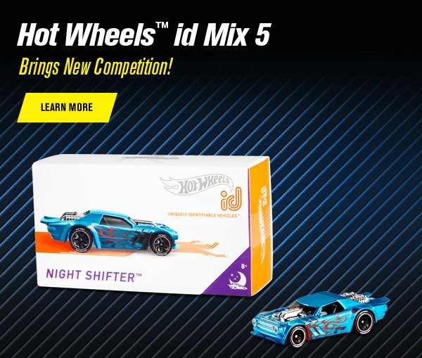 Hot Wheels™ id Mix 5 Brings New Competition!