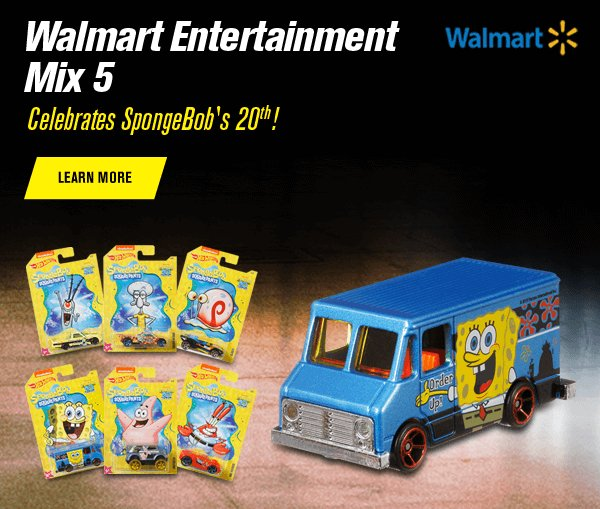 Walmart Entertainment Mix 5: SpongeBob!