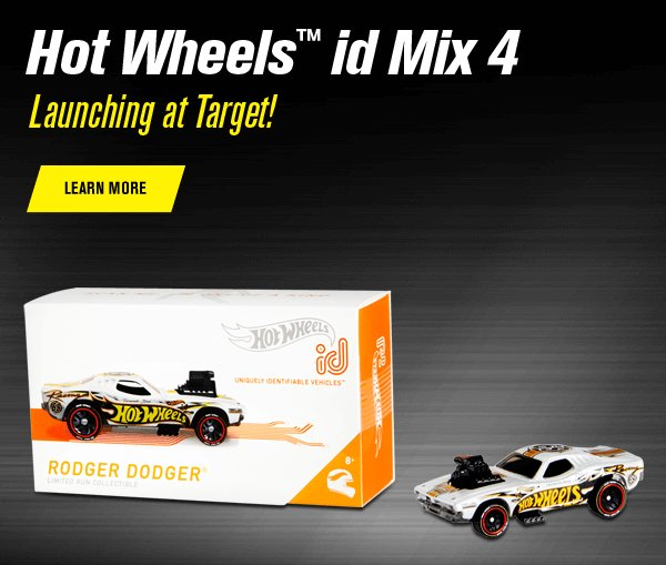 Hot Wheels id Mix 4 Launching at Target!