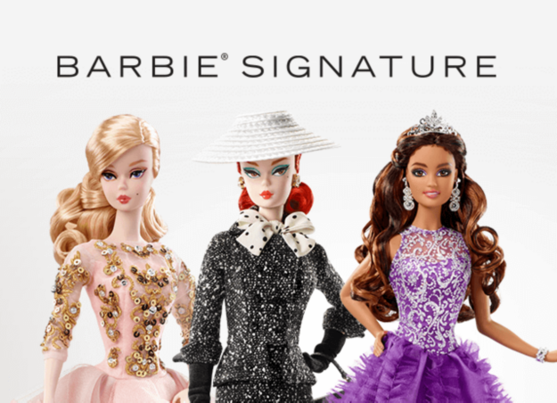Collectible Barbie Dolls Become A Barbie Collector Barbie Signature