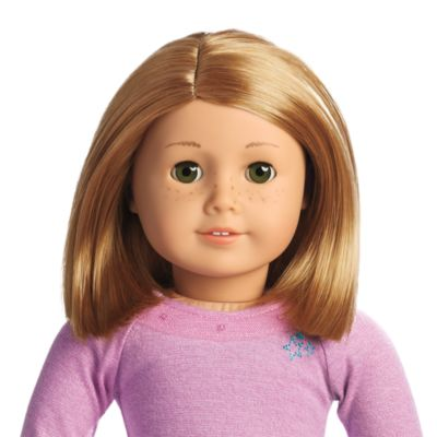 Truly Me Doll Light Skin With Freckles Short Light Red