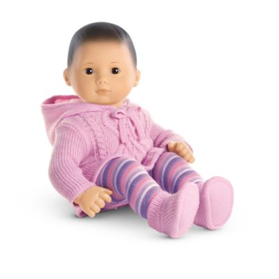 Snuggly Sweater Outfit For Dolls Bitty Baby American Girl