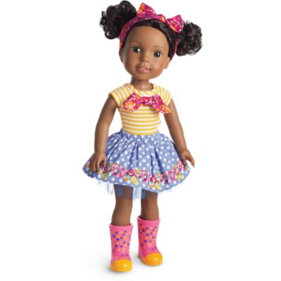 Kendall Doll Welliewishers American Girl