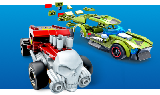 Buildable Hot Wheels®