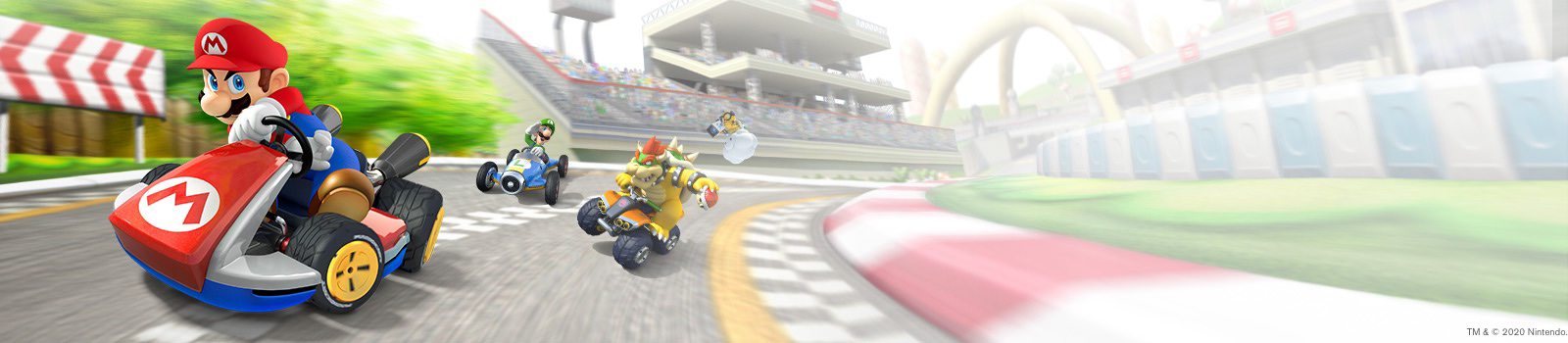 Row 1 Background Mario Kart