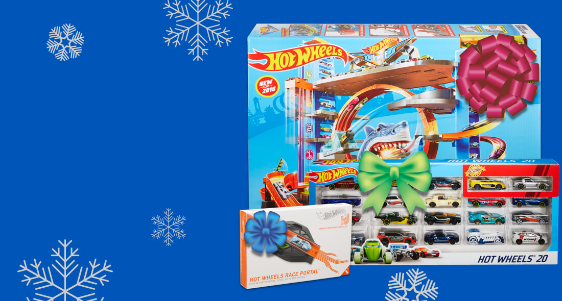 Hot Wheels - Holiday Gift Guide Background