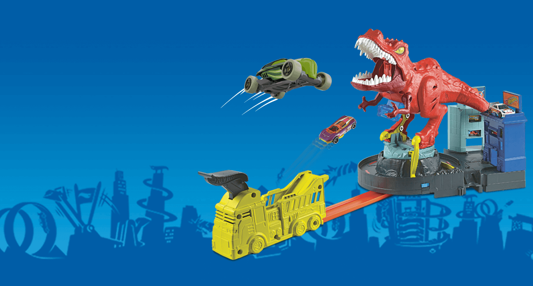 Hot Wheels - Hot Wheels® T-Rex Rampage Play Set