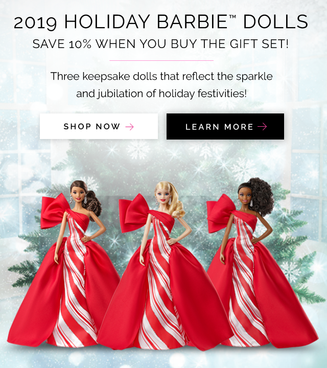 2019 Holiday Dolls
