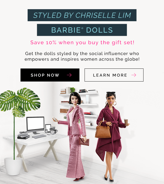 Inspiring Women Rosa Parks and Sally Ride Barbie Dolls