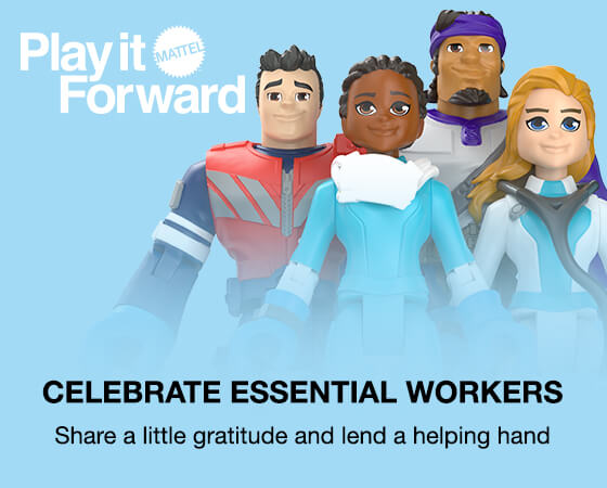 Celebrate Essential Workers - Share a little gratitude and lend a helping hand
