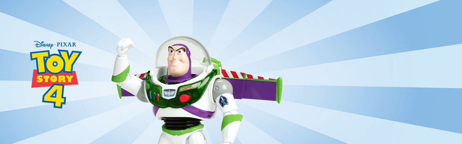 Toy Story 4 Background Image with Buzz Lightyear