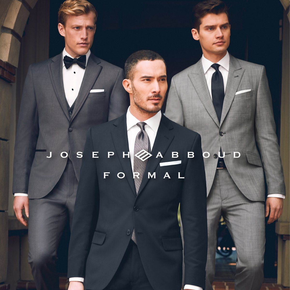 Gray Tux Wedding: Tuxedo Rental, Men's Tuxedos For Rent