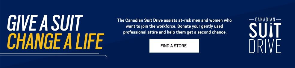 GIVE A SUIT. CHANGE A LIFE