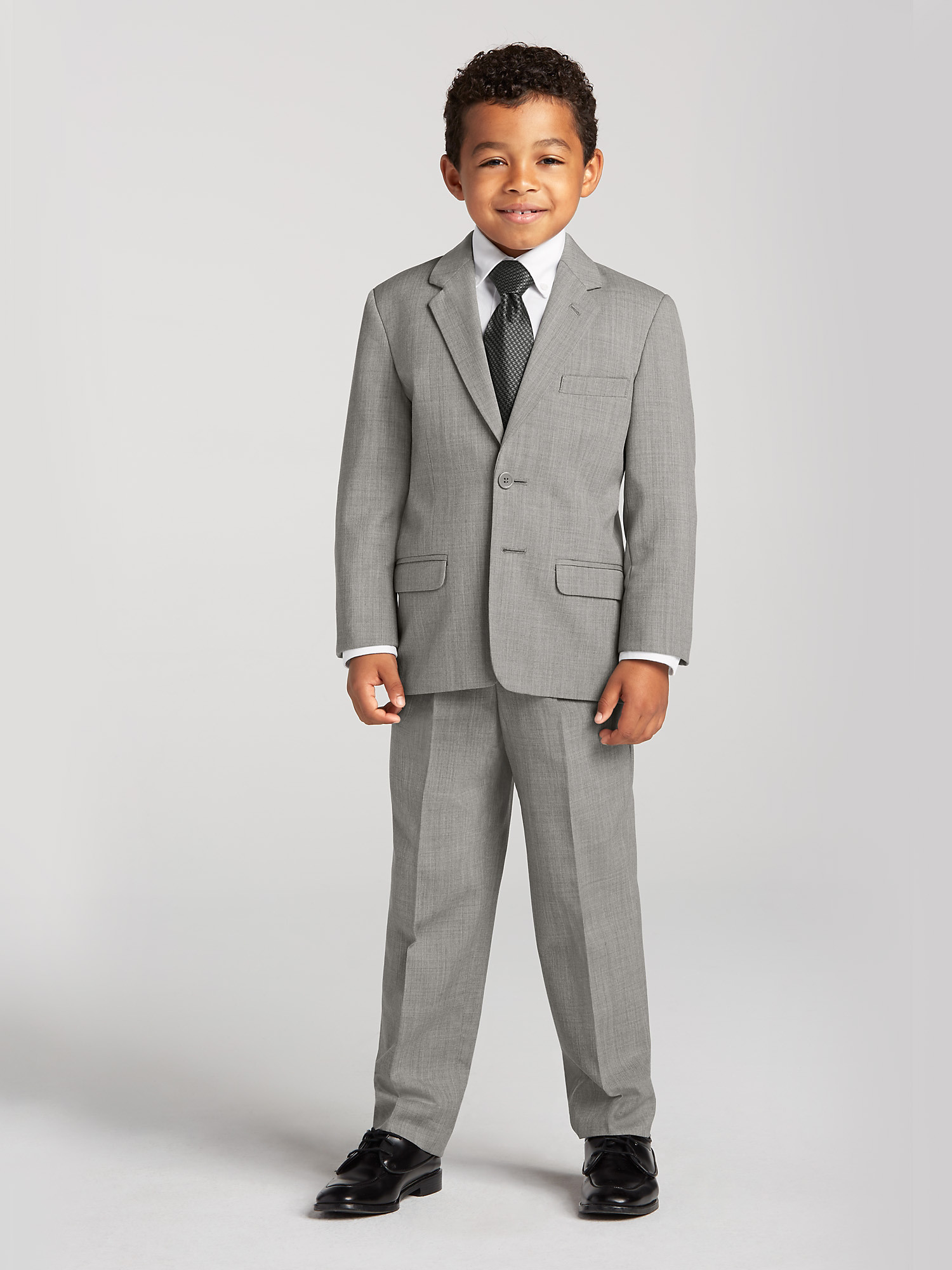 1dd6307a7dabf Boy s Grey Suit Rental by Joseph   Feiss