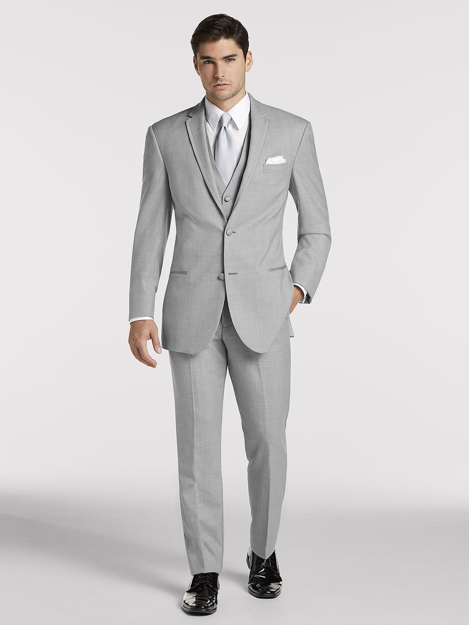 f40ca588c3a Light Grey Tuxedo by Joseph Abboud | Tuxedo Rental | Moores Clothing