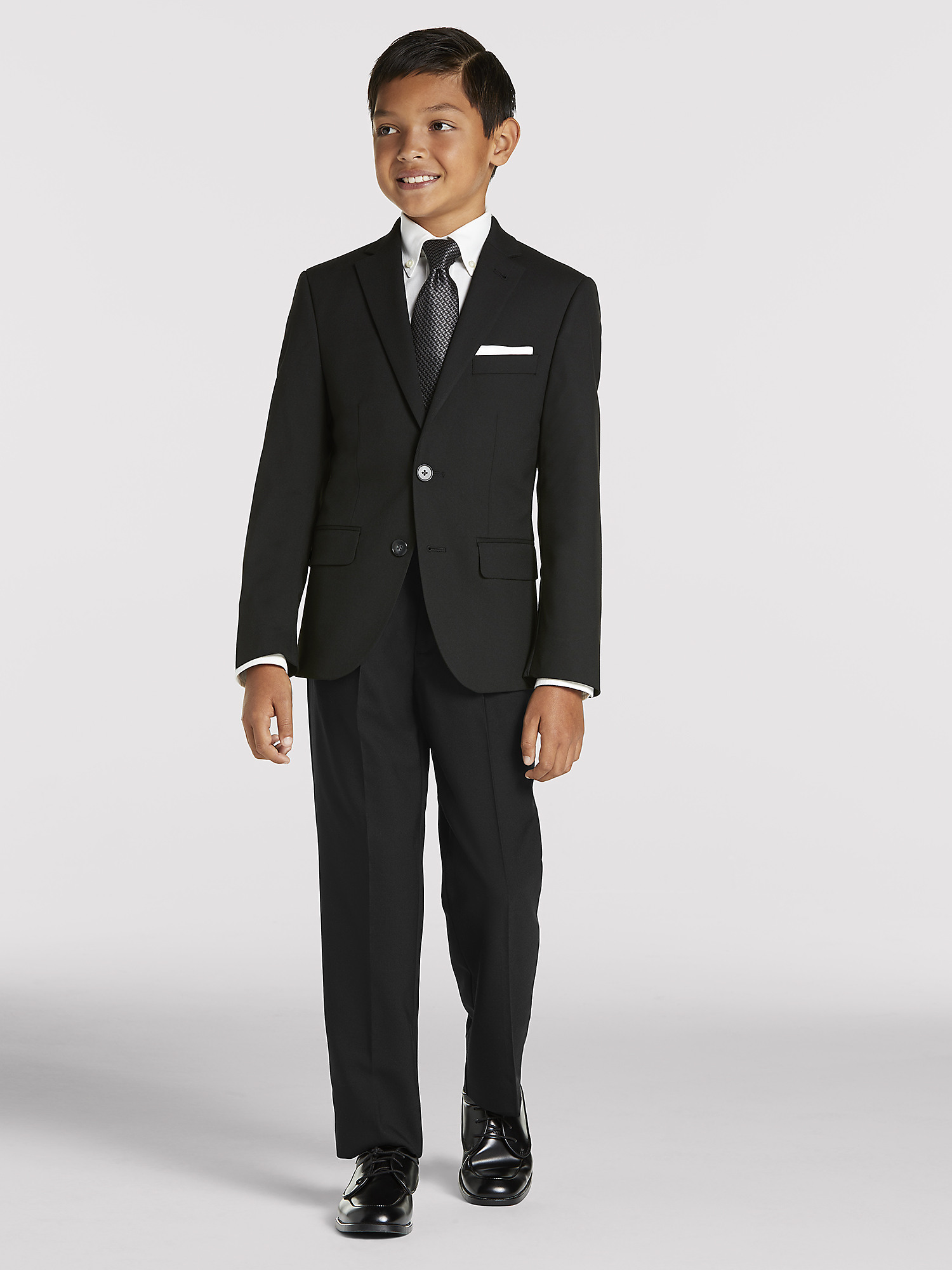Boy S Black Suit Rental By Joseph Feiss Moores Clothing