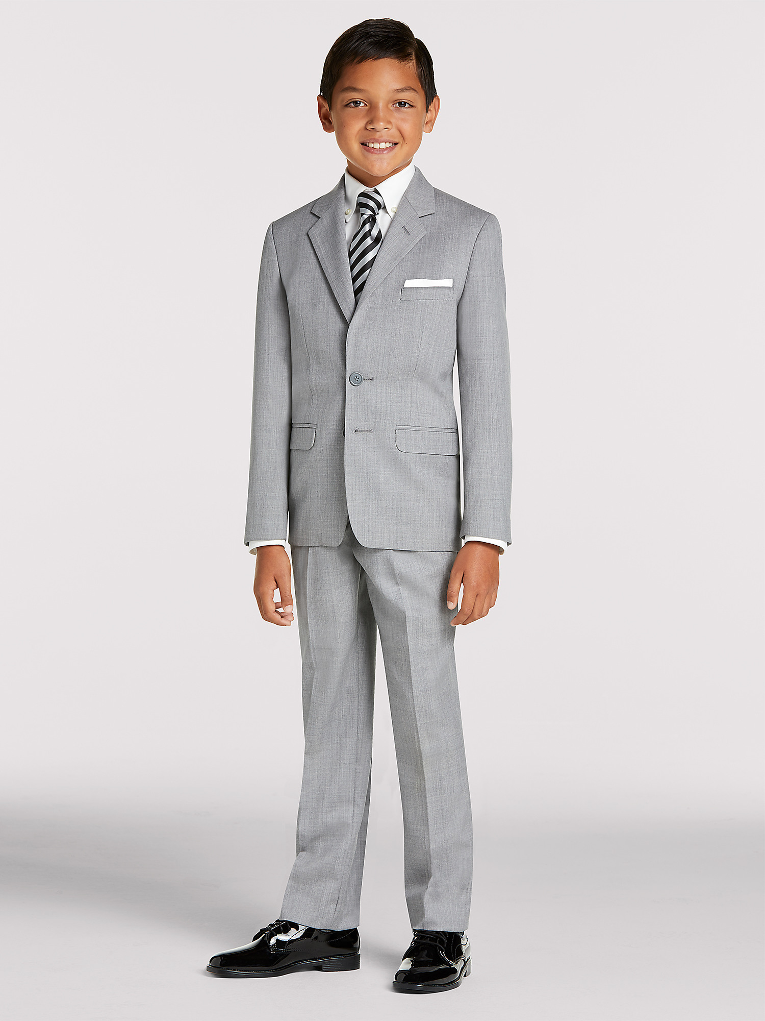 a391c689662 Boy s Grey Suit Rental by Joseph   Feiss