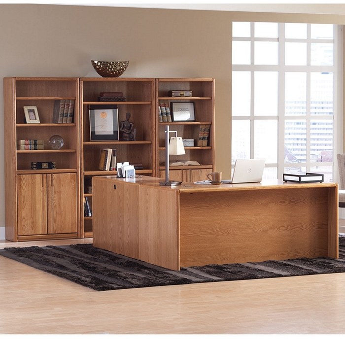 oak office inspiration