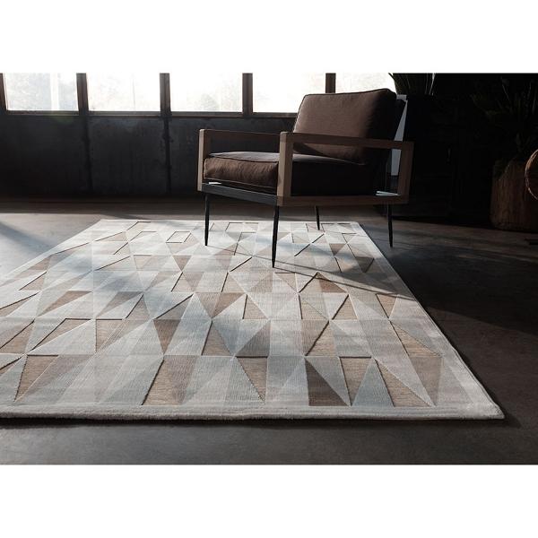 mid century area rug