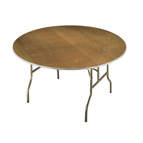 Midwest Folding Products Plywood Folding Table with Wishbone Legs 72\
