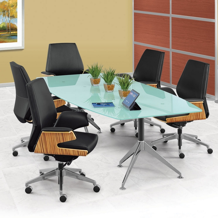 setting up a conference room