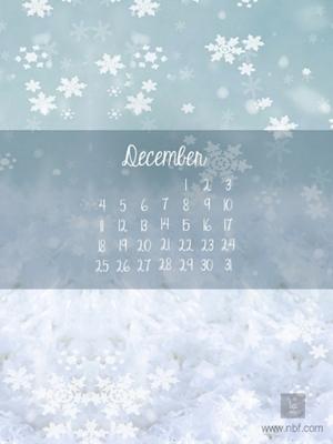 december nbf wallpaper