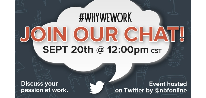 why we work twitter chat