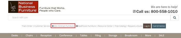 guide to GSA furniture
