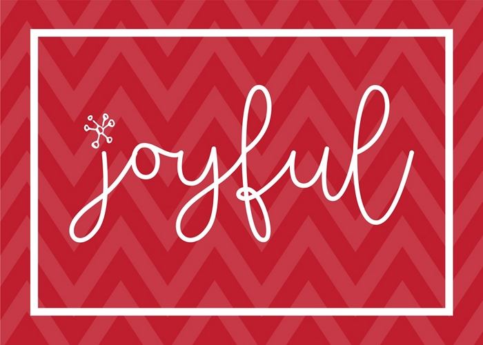 Joyful Print Download