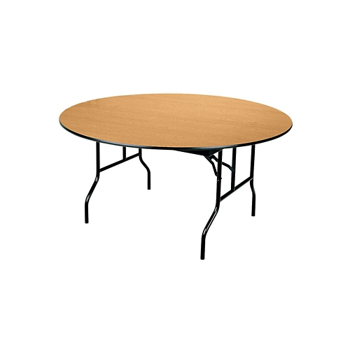 Midwest Folding Products Round Folding Table 72\