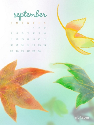 september nbf wallpaper