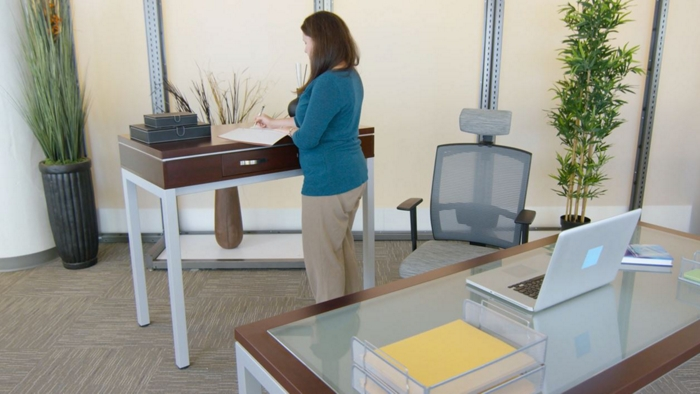 how to get a standing desk