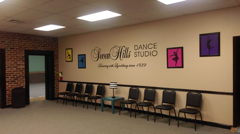 Seven Hills Dance Studio Makeover