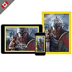 National Geographic Magazine Print Plus-Gift (Canada)