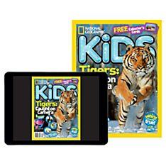 National Geographic Kids Magazine Print Plus (Canada)