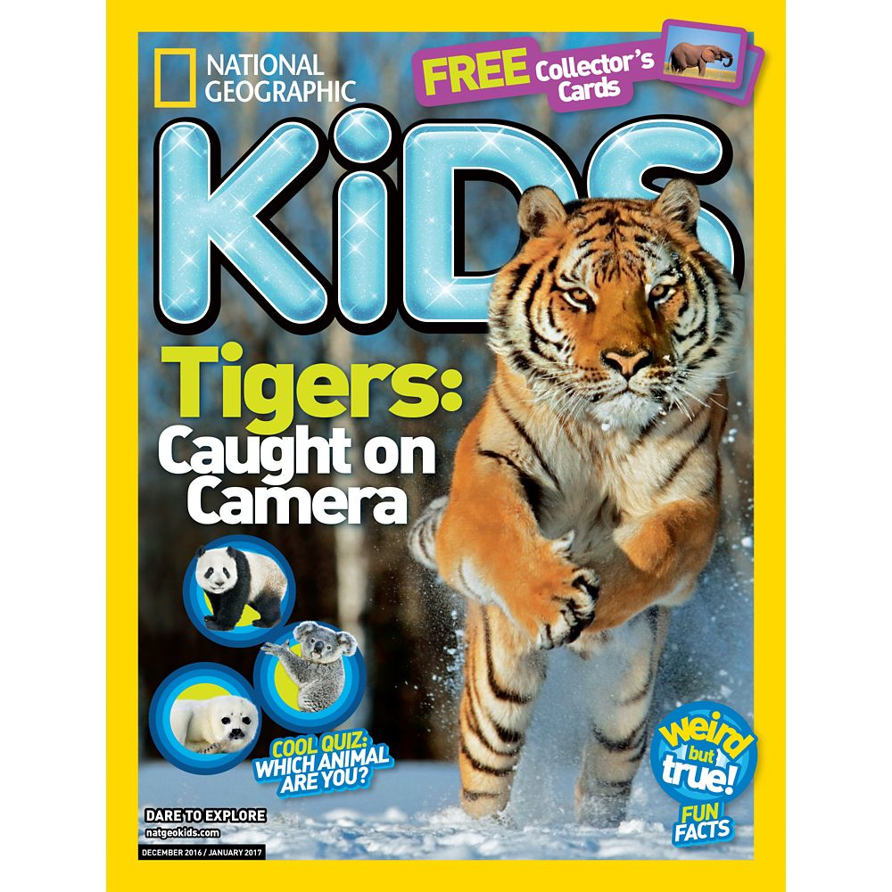National Geographic Kids Magazine International Delivery