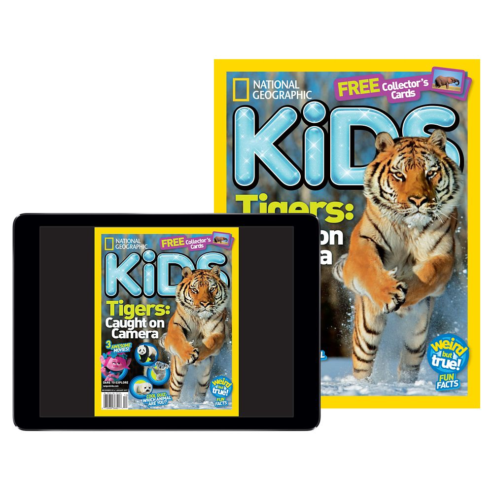 National Geographic Kids Magazine Print Plus (U.S.)