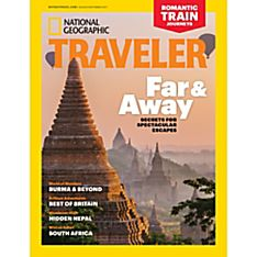 National Geographic Traveler International Delivery