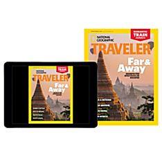 National Geographic Traveler Magazine Print Plus (International)