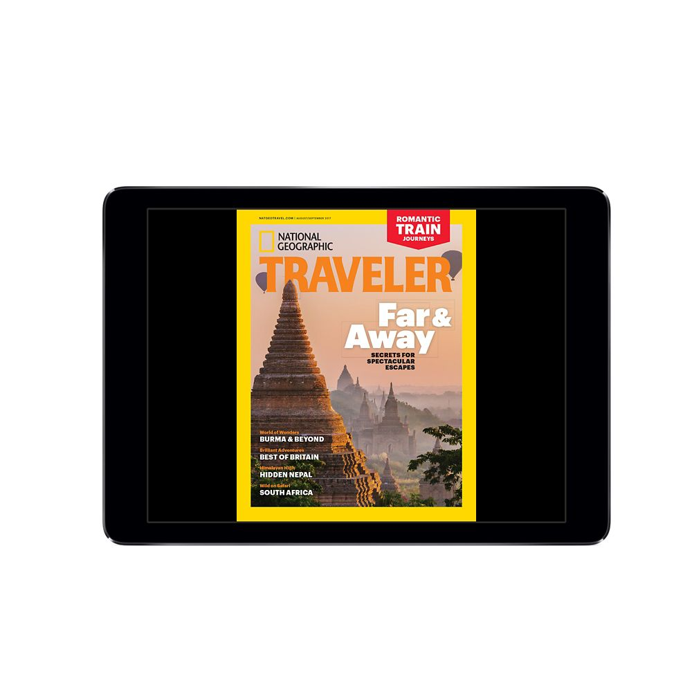 National Geographic Traveler Magazine Digital Access (U.S)