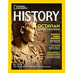 National Geographic History Magazine Canadian Delivery - Gift