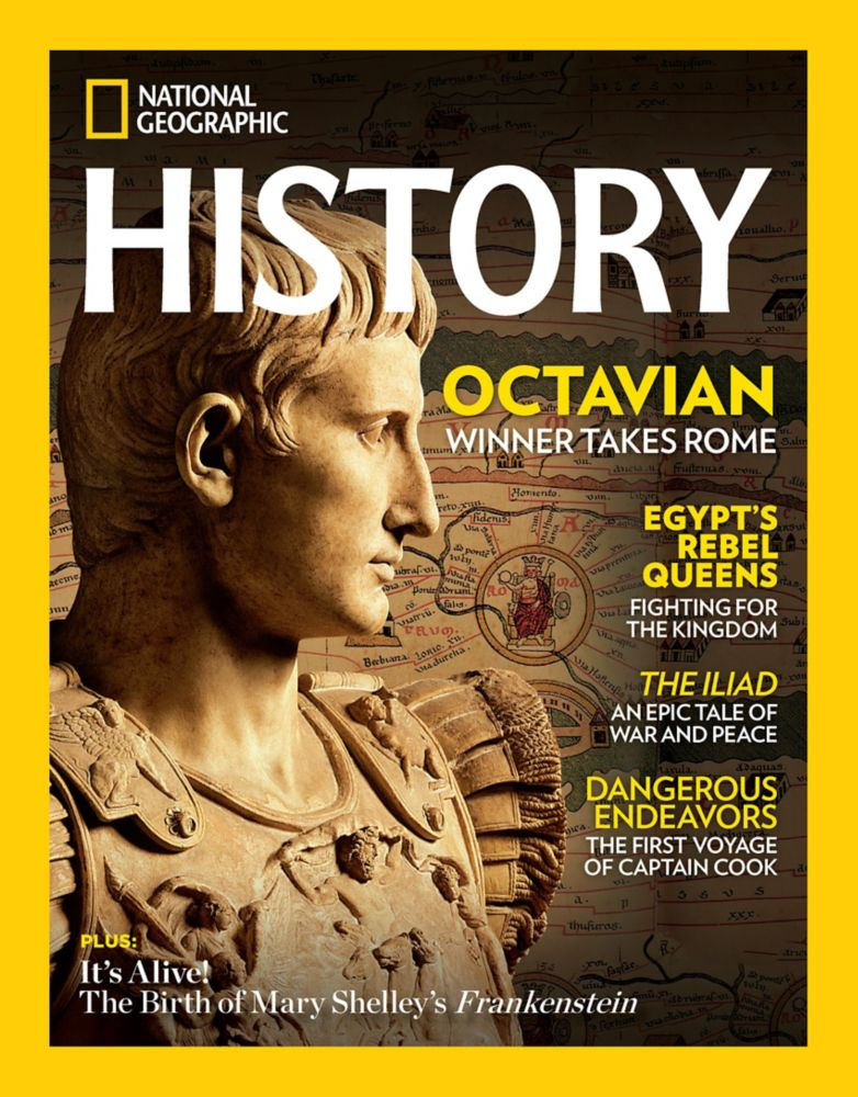 National Geographic History Magazine U.S. Delivery - Gift
