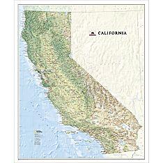 US State Maps Laminated United States Maps National Geographic - Large us maps laminated