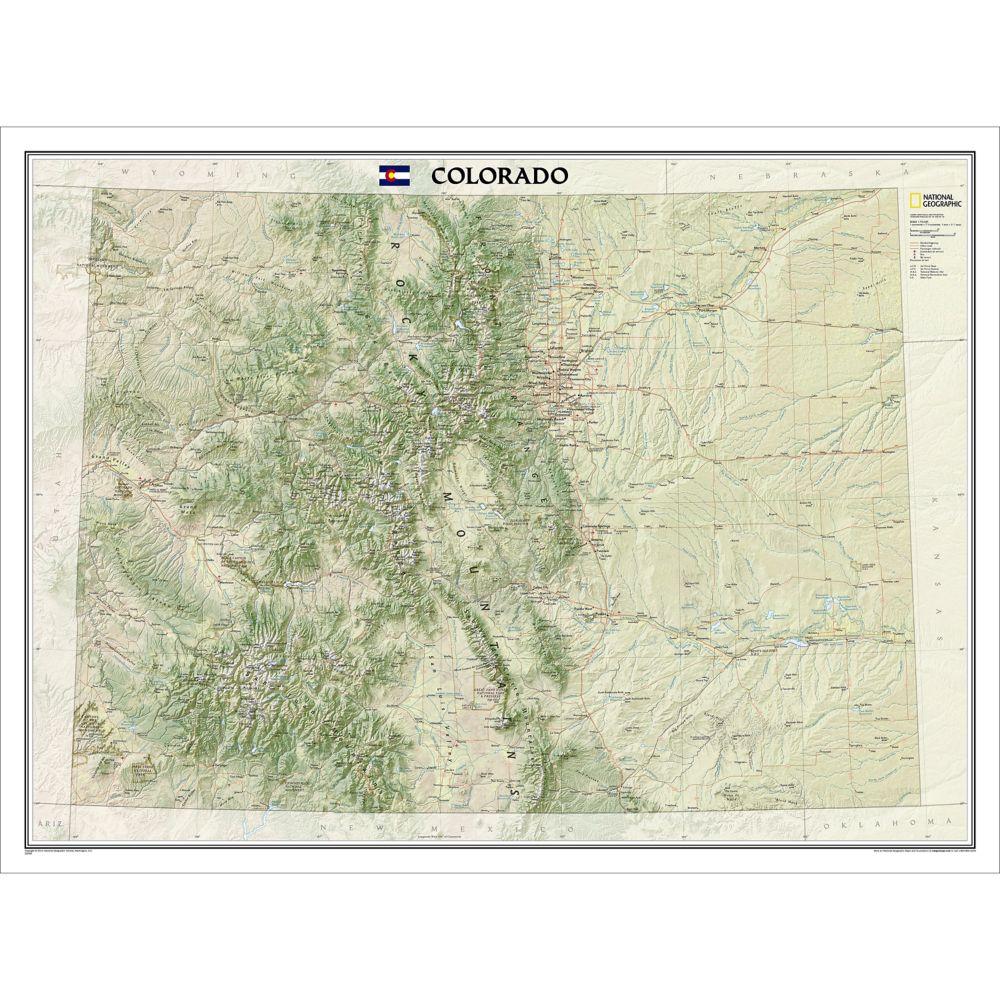 105 Tarryall Mountains Kenosha Pass Trail Map National