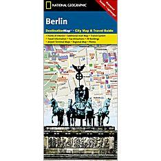 Berlin Destination City Map - Updated