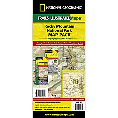Rocky Mountain National Park Trail Maps (Map Pack Bundle)