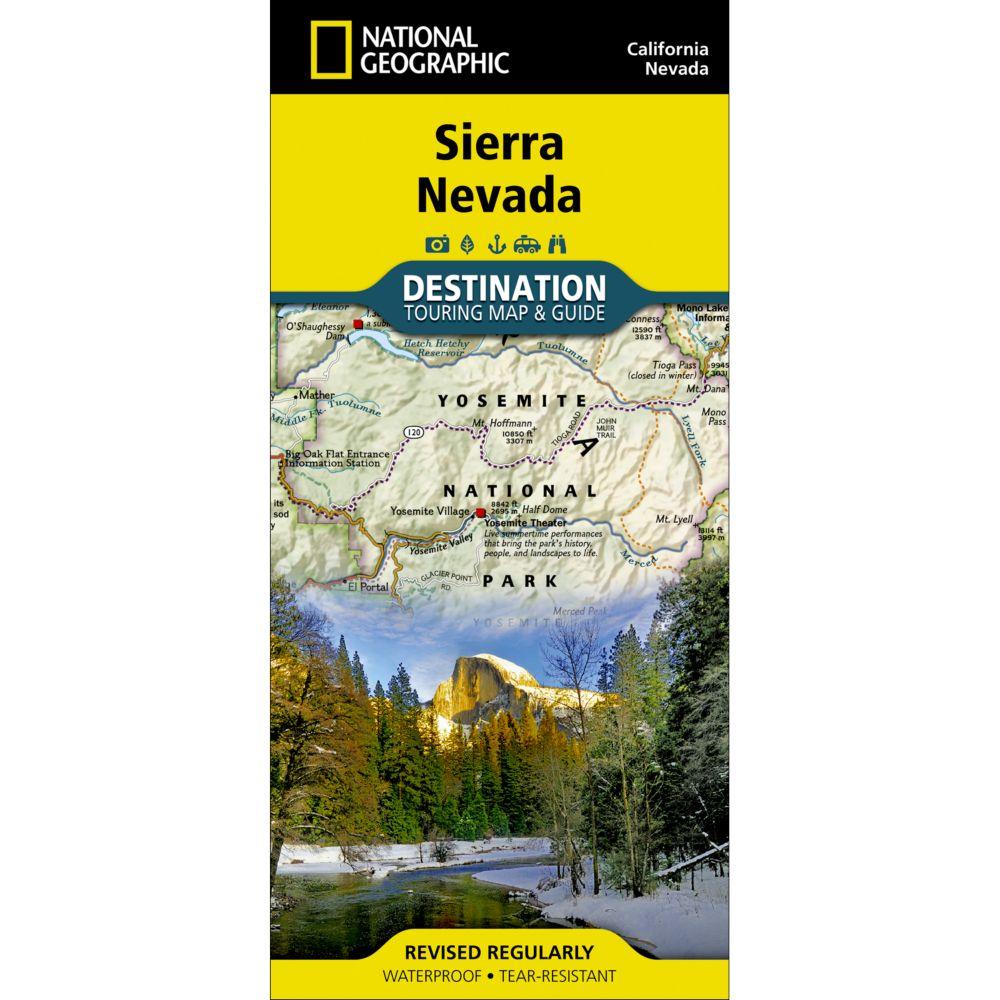 Sierra Nevada Destination Map
