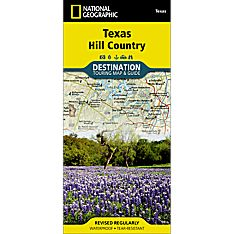 Texas Hill Country Destination Map